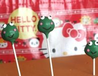 Hello Kitty Cake Pops — Keroppi the Frog