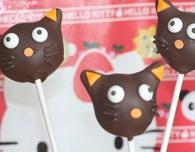Hello Kitty Cake Pops — Chococat