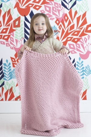 Knitted Baby Blanket (Free Pattern for Beginners) - Craftfoxes