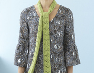 Lace Scarf (Free Knitting Pattern)