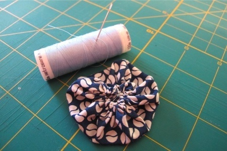 Sew a Yo-Yo — Tutorial
