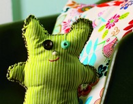 Stuffed Toy — A First Sewing Craft to Do With Kids