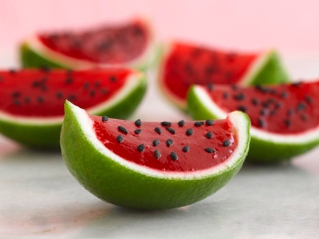 Watermelon Jell-O Recipe