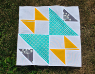 Quilting with Triangles — Bowties and Blooms