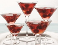 Raspberry Jell-O Cosmo Recipe