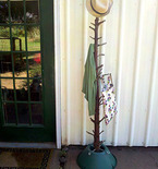 Christmas Tree Coat Rack