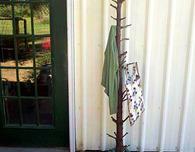 Christmas Tree Coat Rack