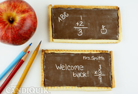 DIY Chocolate Chalkboards