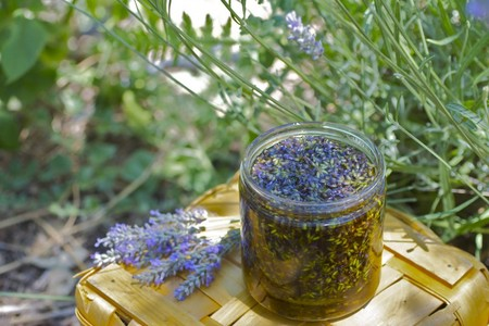 Lavender-Infused Oil