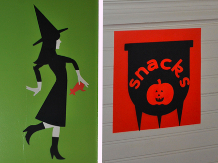Cricut Halloween Party Decorations