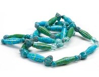 Duct Tape Crafts — Rolled Beads Necklace