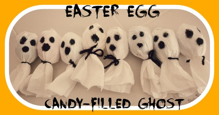 Halloween Candy-Filled Ghosts