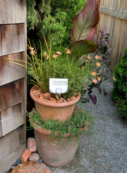 DIY Garden Project: Aluminum Garden Markers
