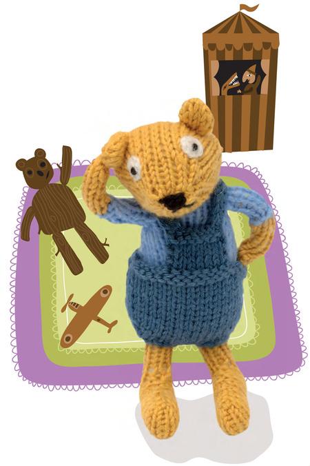 Baby Bear Doll Free Knitting Pattern Craftfoxes