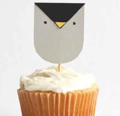 Owl Crafts — Cupcake Topper