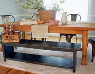 Easy Woodworking Projects — Farmhouse Bench