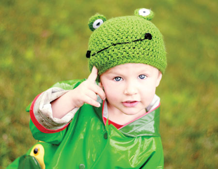 Frog Beanie (Free Crochet Pattern)