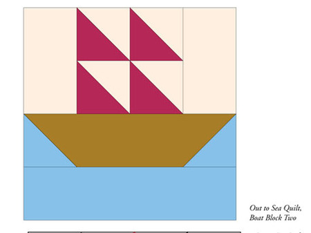 Out to Sea (Free Quilt Block Pattern)