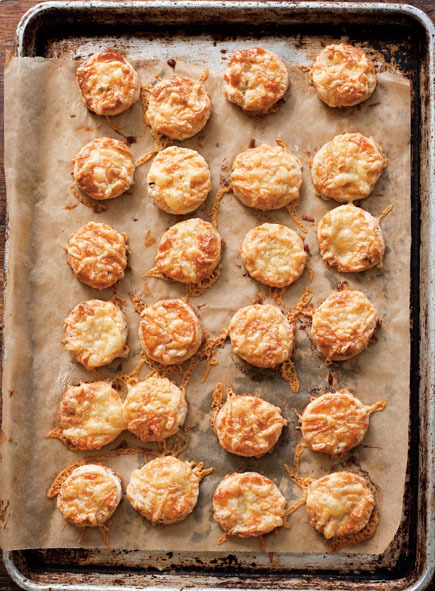 Bite-Size Bacon and Cheese Scones