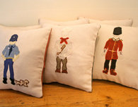Make Your Own Chef and Butcher Pillows