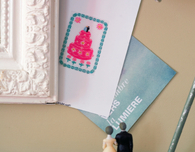 Wedding Cake Announcements (Free Cross Stitch Pattern)