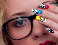 Superhero Nail Art