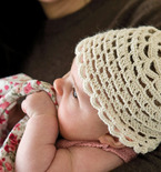 Alpaca and Silk Baby Hat (Free Crochet Pattern)