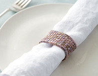 Elegant Knit Napkin Rings