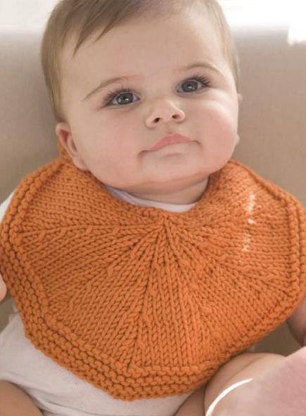 Free Knitting Pattern Orangelo Bib Craftfoxes
