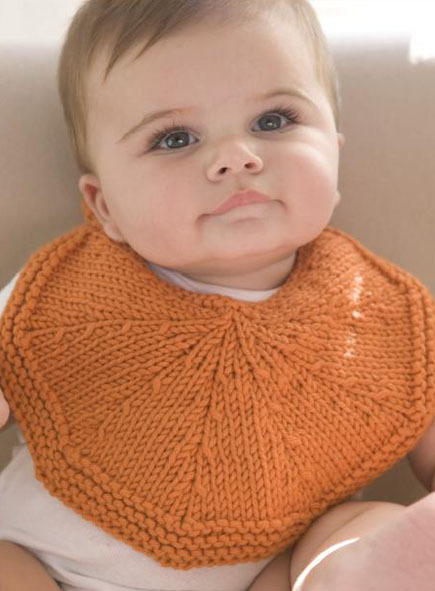 Infinity Scarf Free Knitting Patterns : Free Knitting Pattern Orangelo Bib - Craftfoxes