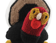 Free Knitting Pattern—Turkey Plushie