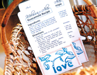 Wedding Favor Seed Packets