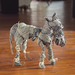 Wrapped and Tied 3D Fabric Animals 