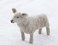 Needle Felted Sheep Tutorial