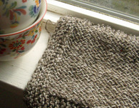 Beginner Knit Dish Cloth Pattern