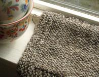 Beginner Knit Dish Cloth Pattern