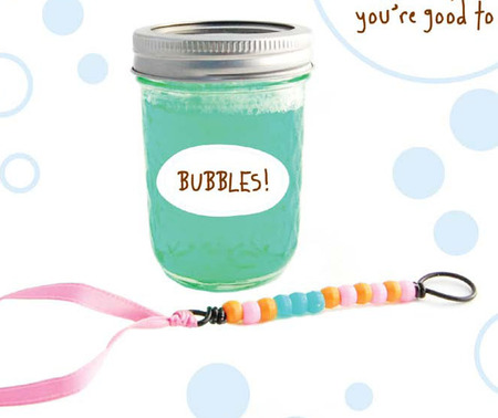 Mason Jar Crafts - Bubble Jar