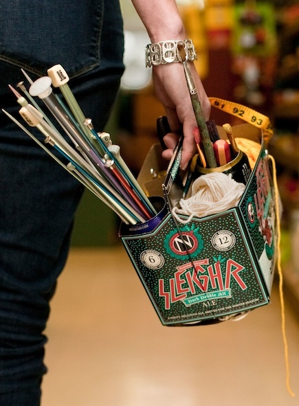 Six-Pack Craft Caddy