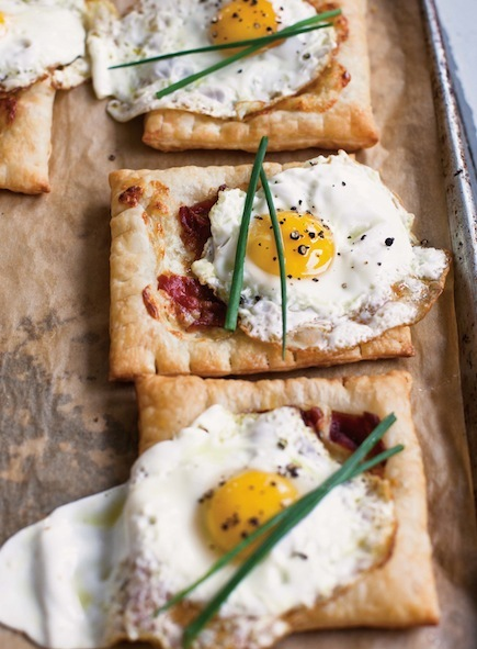 Bacon and Eggs Breakfast Tart