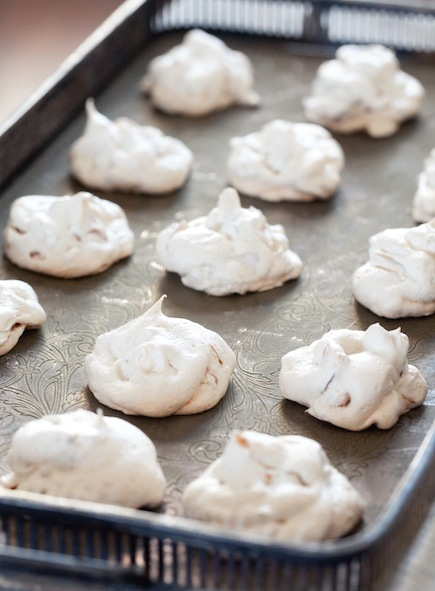 Toasty Almond Meringues Recipe