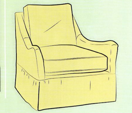 Sew a Slipcover for a Chair