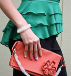 Date Night Clutch, Earrings & Bracelet