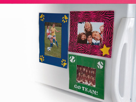 Duct Tape Photo Frames