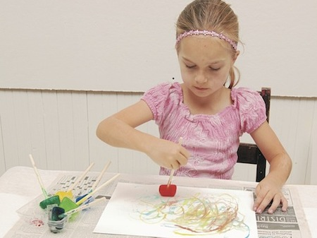 Crafts for Kids — Ice Drawings
