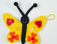 Felt Butterfly Sewing Pattern