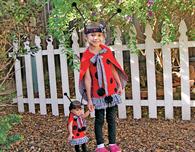 Ladybug Girl & Doll Costume