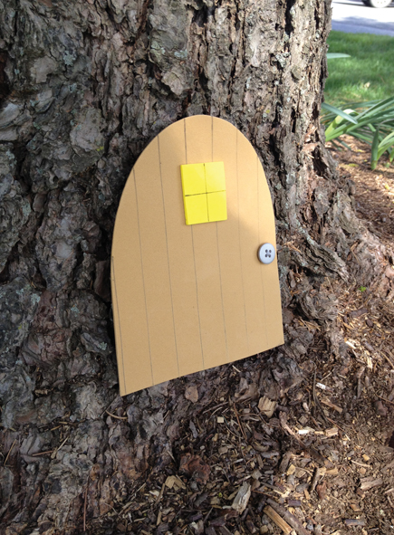 Crafts for Kids: Foam Fairy Door