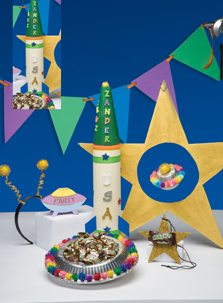 Outer Space Kids' Party Ideas