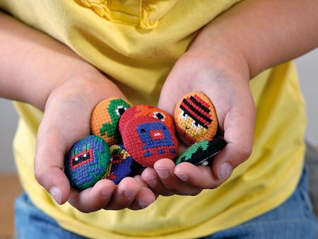 Little Monsters Cross Stitch Pattern