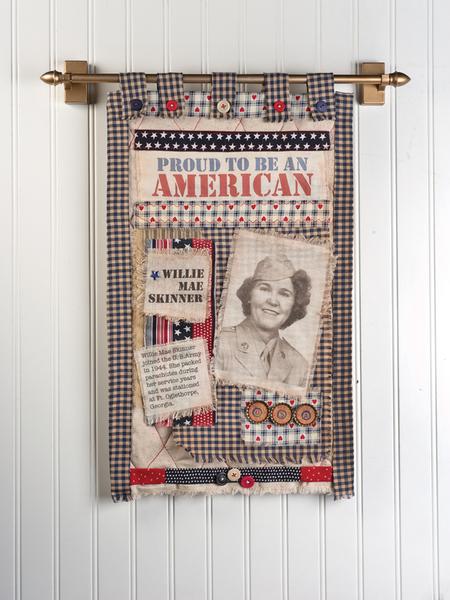 Fabric Photo Wall Hanging